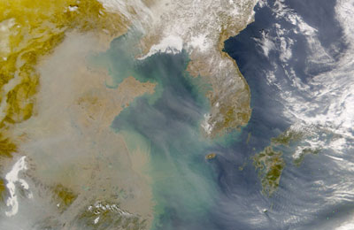 pollution pictures in china