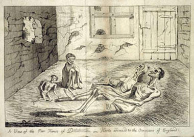 Drawing of the death scene