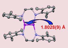 The dichromium complex